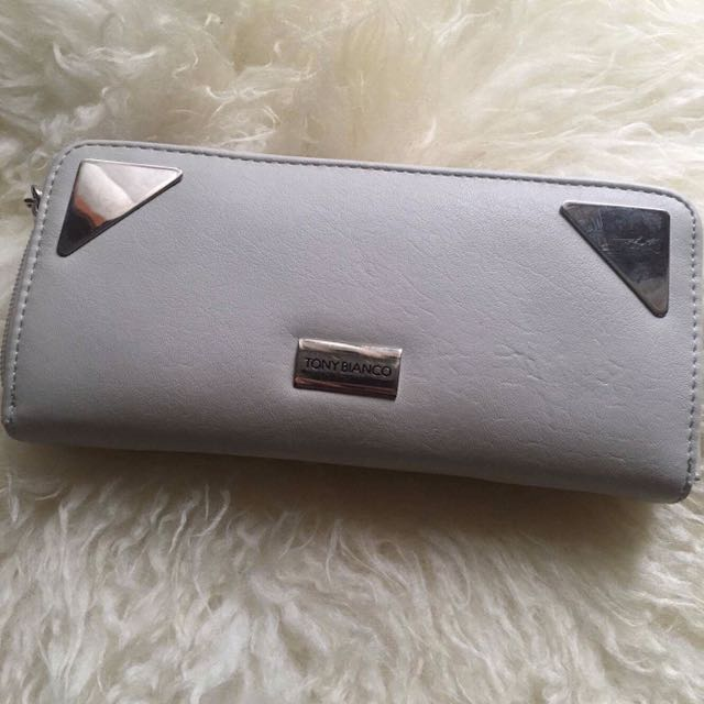White Tony Bianco purse/wallet