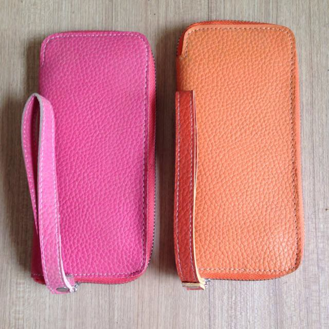 Zip Wallet Set of 2