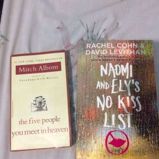 5 people you meet in heaven / naomi and ely no kiss list