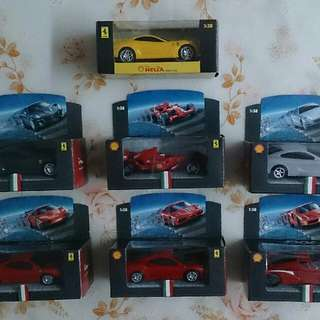 2009 Shell V-Power Car Models Collection - 7 Set