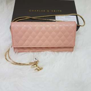 Charles&keith original wallet on chain