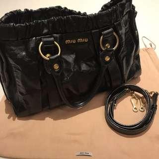 (Price reduced) Miu Miu Vitello Lux Bag