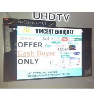 "2018 TCL 4k uhd smart led tv 50"" inch Model: 50p6"