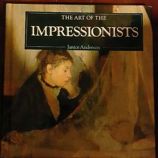 畫册 THE ART OF THE IMPRESSIONISTS