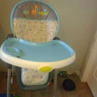 High Chair Just Like New