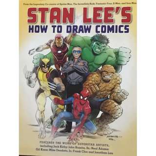 Book Stan LEE'S HOW TO DRAW COMICS