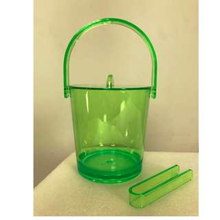 Kartell style Ice bucket ,chill and chic