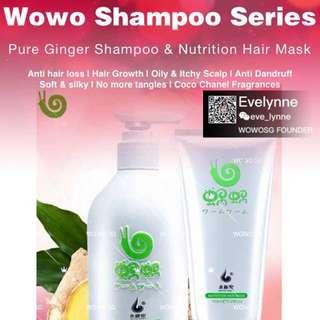 Wowo Shampoo Series (2pcs)