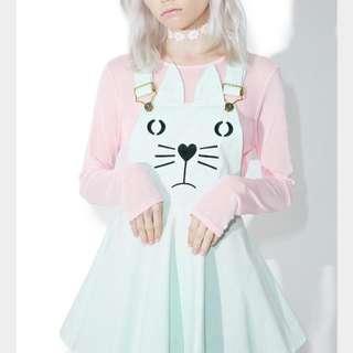 Kitten overalls