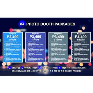 Photo Booth Rental(Free 30 Minutes)