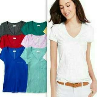 BN/Onhand V-neck Shirt with Side Pocket