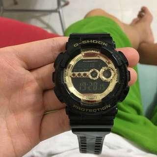 「代友放」G-Shock黑金色
