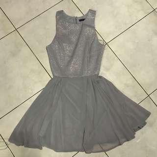 Atmosphere UK Primark Gray Prom Dress