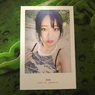 AOA Yuna GOOD LUCK POLAROID/PC