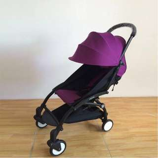 Yoya第一代手推車 2手推車(紫色)