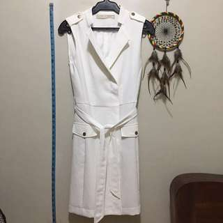 CLN Celine dress white