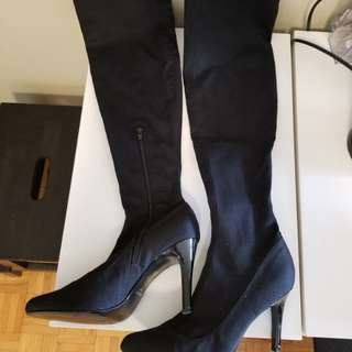 Nine West Knee High Black Boots