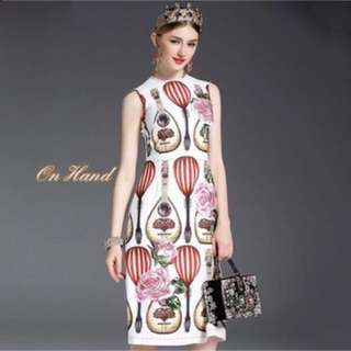 Dolce and Gabbana Dress-Medium-Brand new with tag ( small for a medium) Urgent Sale- price reduced