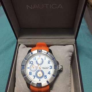 Nautica Silver Dial Men's Multifunction Watch