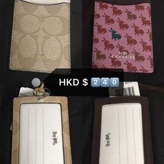 美國代購coach ID card holder