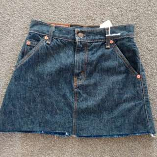 Levis denim skirt - xs -6