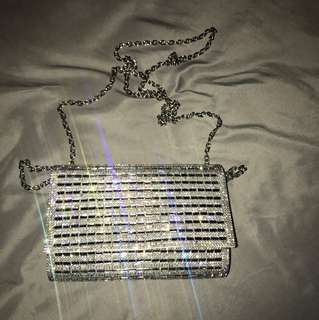 Aldo Sparkly side bag / clutch