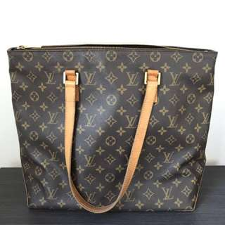 Authentic Louis Vuitton monogram canvas shopping tote bag