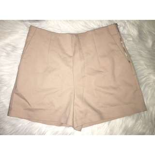 Nude Coloured Shorts