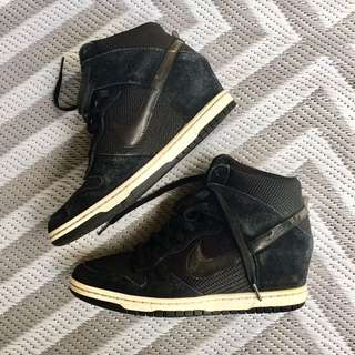 NIKE DUNK SKY HI BLACK - 41/10