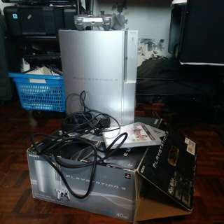 PS3 Playstation 3 40GB *faulty*