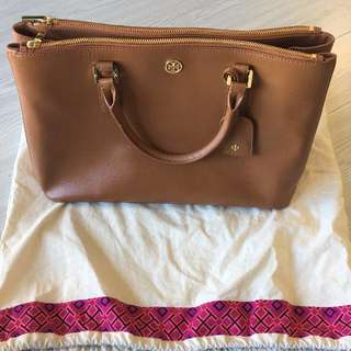 AUTHENTIC Tory Burch - Robinson - Double Zip Tote