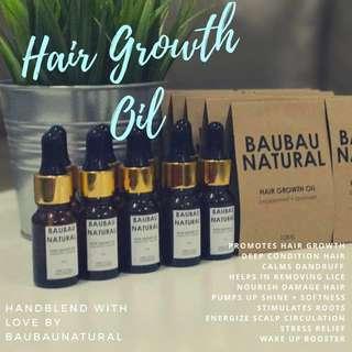 BaubauNatural Homemade Hair Growth Oil 10ml