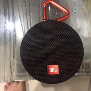 speaker jbl clip 2, kondisi 90% baik. garansi sisa 3 bulan. nego tipis