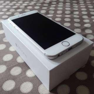 Iphone 6 64GB Silver Garansi Resmi TAM - Juli 2018 Mint Condition