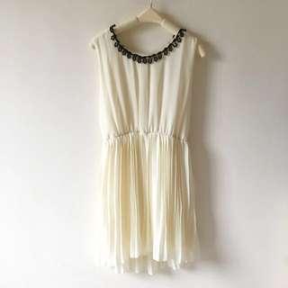 斯文雪紡連身裙 One-piece Dress