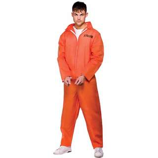 Prison Jumpsuit Costume