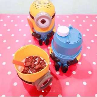 Minion Cereal Bottle / Cup