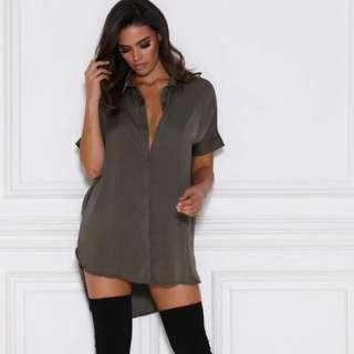Meshki Shirt Dress