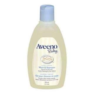 Aveeno Baby Wash and Shampoo 18oz