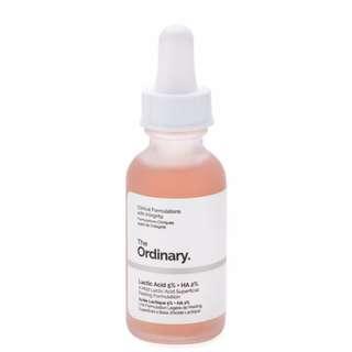 [Ready Stock] The Ordinary Lactic Acid 5% + HA 2% 30ml