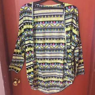 Outer printed