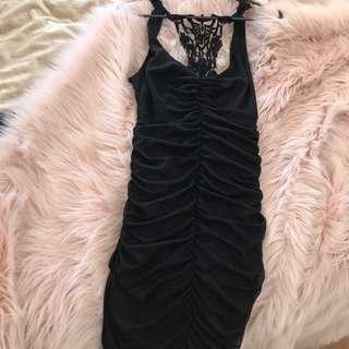 Juno Black Dress