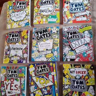 Tom Gates 1-9 by Liz Pichon