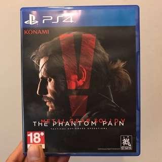 """Metal Gear Solid V """"Tha Phantom Pain"""""""
