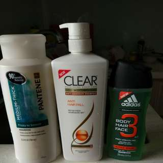 Shampoo and body wash steal price
