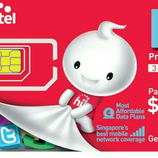 Registered Prepaid Sim Card/Space Card/太空卡. No need to Register!!!