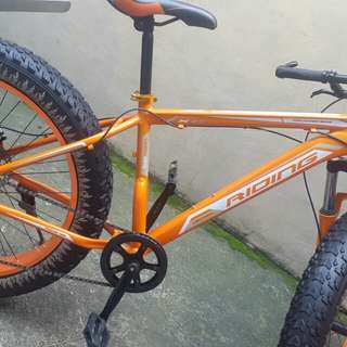 Fat bike RIDING