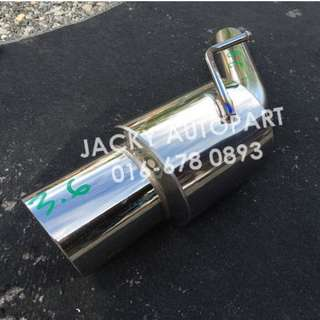 "Muffler Exhaust HKS Es Wagon Kcar 2.3"" Japan"