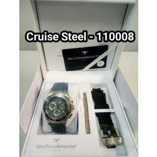 Cruise TechnoMarine - Authentic Brandnew Arrival Watches (Onhand)