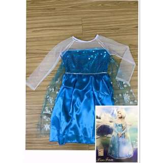 ELSA OF FROZEN COSTUME FOR KIDS